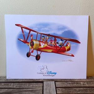 "Disney Special Edition Lithograph ""Exclusive"""